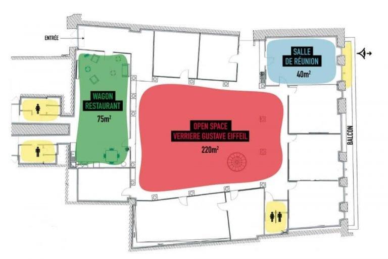 location privatisation salle bureau evenementiel bordeaux locomotiv